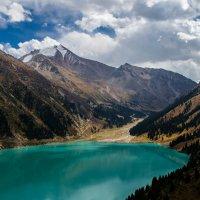 Большое Алматинское озеро :: Анастасия Бобровская