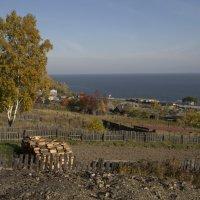 Сельский взгляд на Байкал :: Константин Огнев