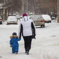 два поколения :: Евгений Вяткин