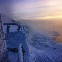 И вязь морозная что под закат :: Александр | Матвей БЕЛЫЙ