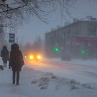 13 января, вечер :: Валентин Кузьмин