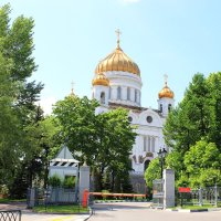 Храм Христа Спасителя. Москва. :: Олег