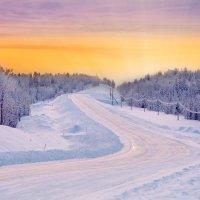 Первый восход солнца после полярной ночи! :: Елена Тарасевич (Бардонова)