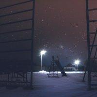Площадка ночью :: Сергей Сергеичь