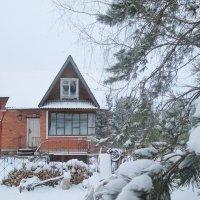 Домик в деревне. Зима. :: Михаил Попов
