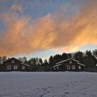 небо над деревней :: Елена