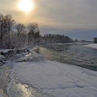 Катунь в начале зимы :: Tatiana Lesnykh Лесных