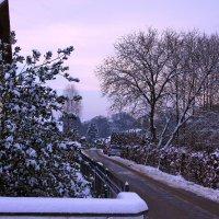 Робкие шаги зима... :: Вальтер Дюк