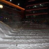 Лестница в морозный вечер. :: Наталья Золотых-Сибирская