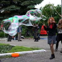Мыльные  пузыри....!!!) :: Валерия  Полещикова