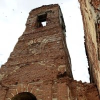 Птицы  над  Храмом  разрушенным... :: Валерия  Полещикова