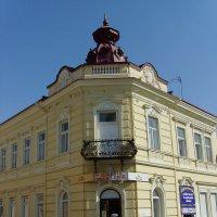 Бывший  жилой  дом  в  Дрогобыче :: Андрей  Васильевич Коляскин