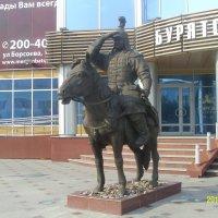 Статуя воина хишигтэна (гвардейца) :: Виктор Мухин