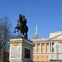 Памятник Петру I у Михайлоского замка :: Ольга