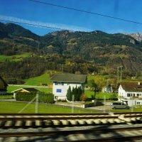 Швейцария. За окном Альпы. :: Murat Bukaev
