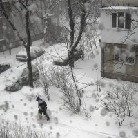 "Снегопад "" ( 2) :: Людмила"