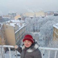 На крыше Лофт Проект ЭТАЖИ в Петербурге! :: Светлана Калмыкова