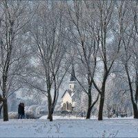 Зимняя графика :: Ольга Хлуднева
