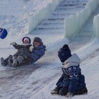 На ледяной горке... :: Альмира Юсупова