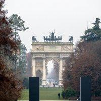 Триумфальная арка, Милан :: Witalij Loewin
