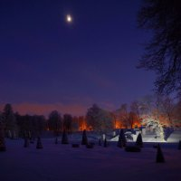 При луне :: Валентина Папилова