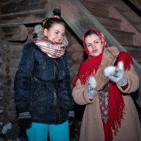 Гадание на суженого по полену :: Евгений Никифоров