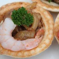 Тартаретки с морепродуктом :: Наталья Золотых-Сибирская