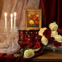 ...в вечернем наряде прекрасная роза... :: Валентина Колова