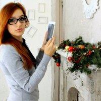 Девушка на работе! :: Илья Харламов