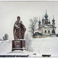 Памятник Юрию Долгорукому ( основателю города ) :: марк