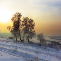 Зимний фотопейзаж :: Анатолий Иргл