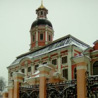 Вид на Александра-Невскую Лавру. :: Светлана Калмыкова
