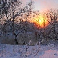 Пламенный закат :: Мария Кухта