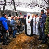 Крещение в Горловке :: Геннадий Беляков