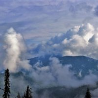 Где рождаются облака :: Сергей Чиняев