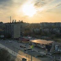 Закат в родном городе :: Валерий Кокин
