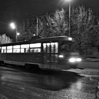 Ночной трамвай :: Иван Синицарь