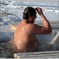 Моржевание с верой - залог здоровья :: Андрей Заломленков