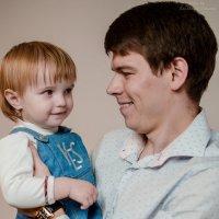 Новогодняя фотосессия для маленькой Маши :: Таня Ланская