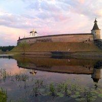 Когда-то в Пскове :: Наталья Левина
