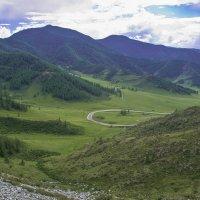Вид с перевала. :: юрий Амосов