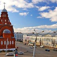 Старообрядческий храм Троицы Живоначальной на Театральной площади во Владимире :: Денис Кораблёв