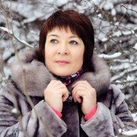 В заснеженном парке :: Татьяна Киселева