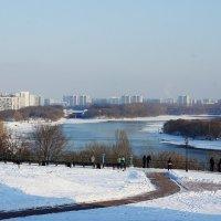 Вид на Москву-реку от Церкви Вознесения Господня :: Елена Смолова