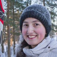 Школьники на лыжне 3 :: Валерий Талашов