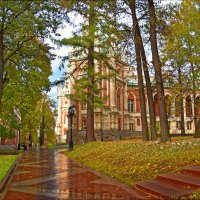 Осень в Царицино. :: Евгений Кузнецов