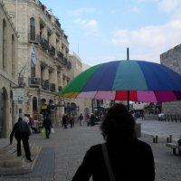 Наш экскурсовод. Внутри Старого города в Иерусалиме. :: Надежда
