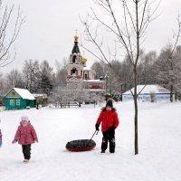В крещенские морозы :: Николай Ярёменко