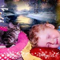 """Человек рождён для счастья, а не для того, """"чтобы слушаться""""!  Василиса, 4 года. :: Наталья Александрова"""