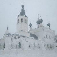 Зимний храм. :: Михаил Попов